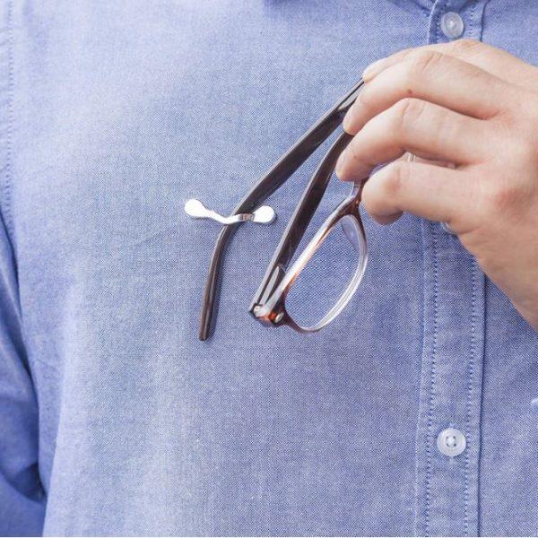 Clip Seguridad para gafas (Pack 2 ud)