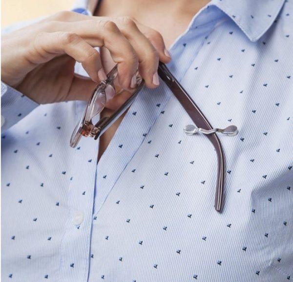 Clip de seguridad para gafas