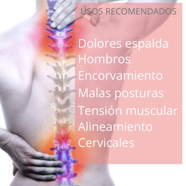 corrector de espalda usos recomendados