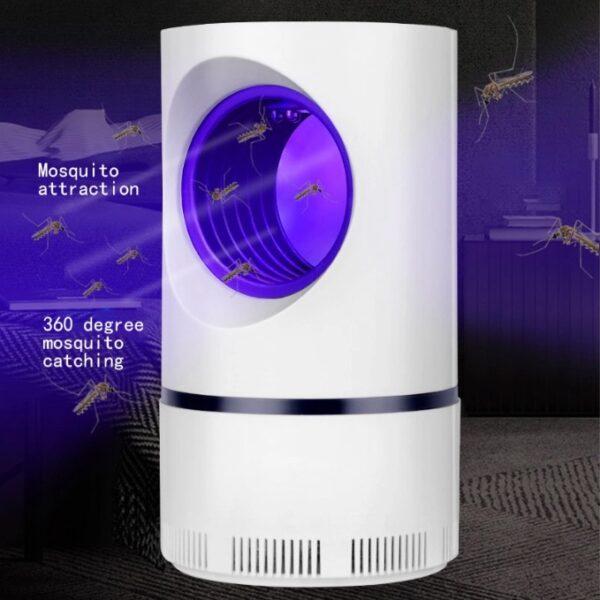 Trampa Antimosquitos Luz Ultravioleta