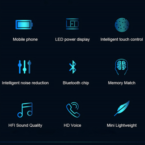 Auriculares Bluetooth 5.1 + PowerBank