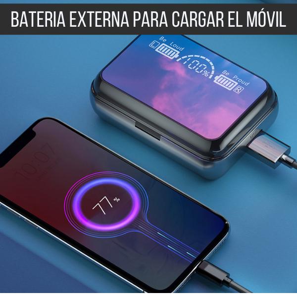 Auriculares Espejo + PowerBank Exclusive